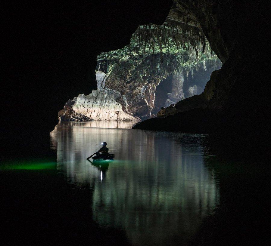 Пещера Tham Khoun в Лаосе