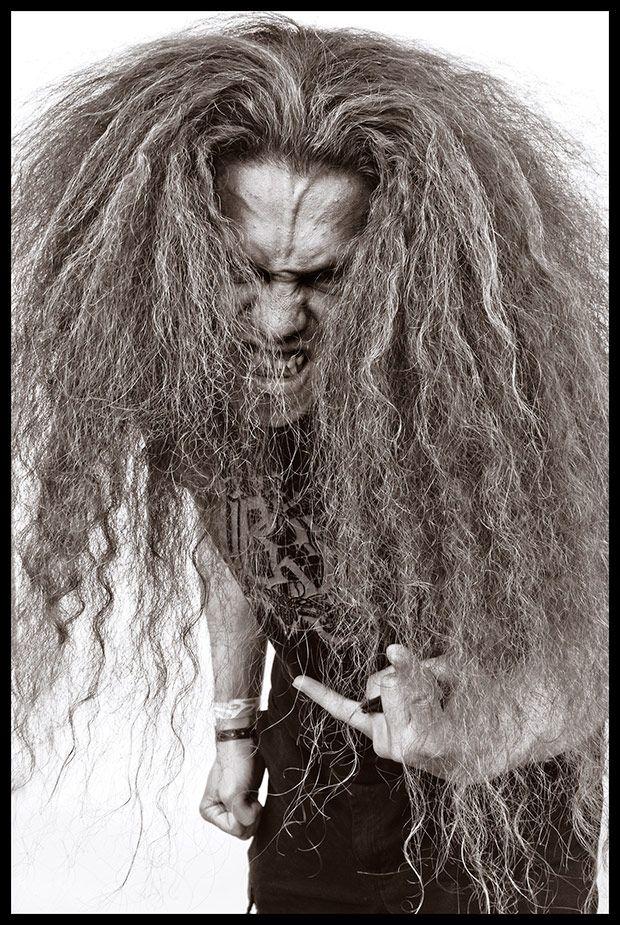 Фанаты дэт-метала от фотографа Дж. М. Джордано