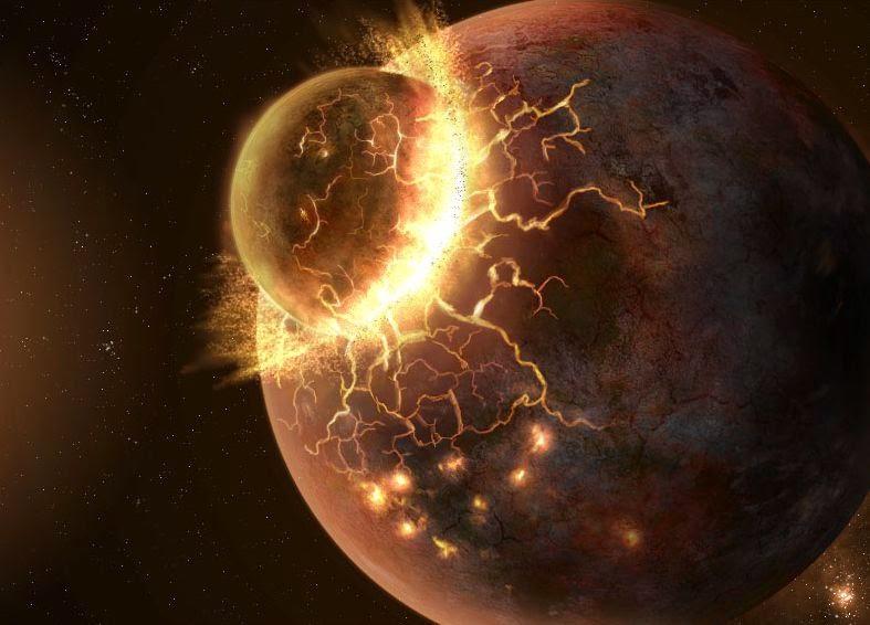 Загадка происхождения Луны