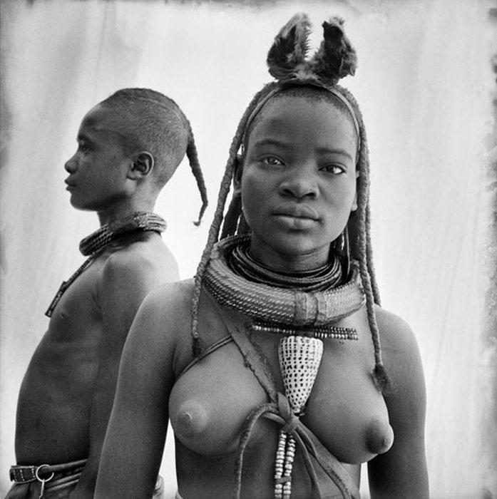 Полукочевое племя Химба из Намибии