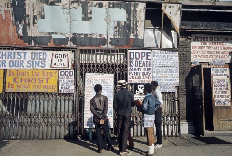 Обитатели Гарлема 70-х годов