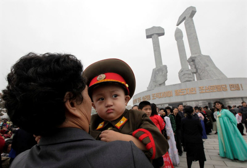Жизнь детей в Северной Корее