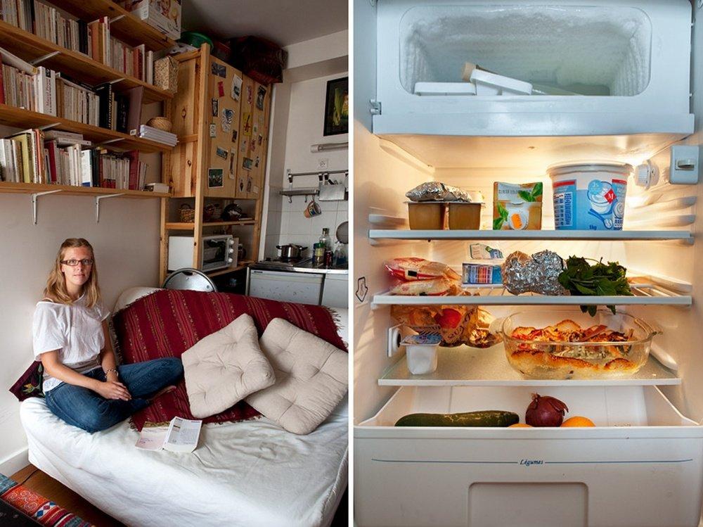 В твоём холодильнике - фотопроект Стефани де Руж