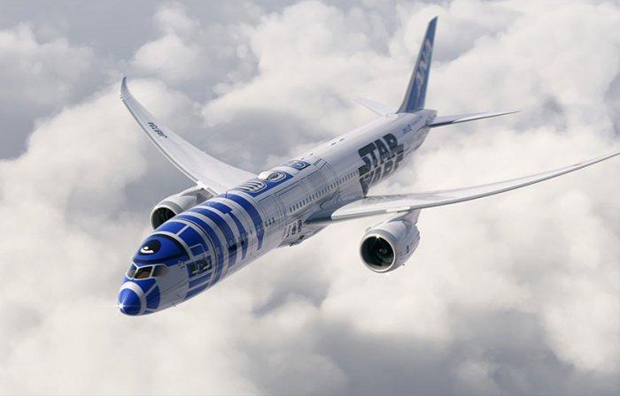 Авиалайнер R2-D2 японской авиакомпании