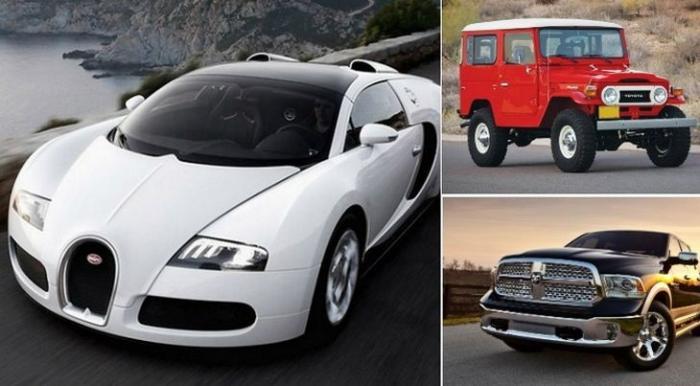 Мужественные автомобили для настоящих мачо