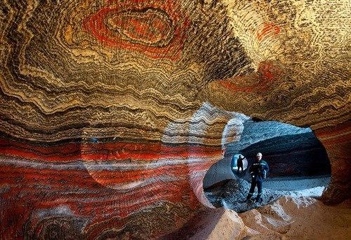 Красота верхнекамских соляных месторождений