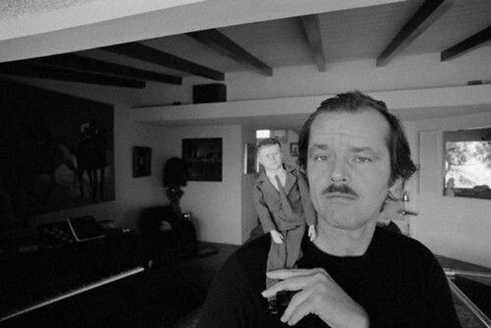 Подборка редких фотографий Джека Николсона