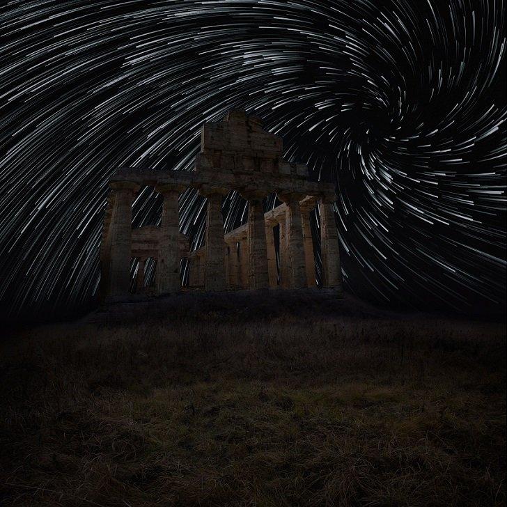 Звёздные вихри от Тота Габора Гьюлы