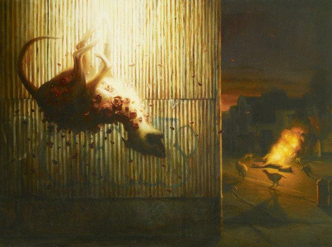 Современная живопись Мартина Витвуса