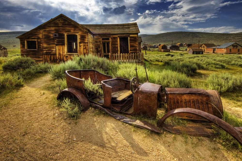 Заброшенные места, где когда-то кипела жизнь