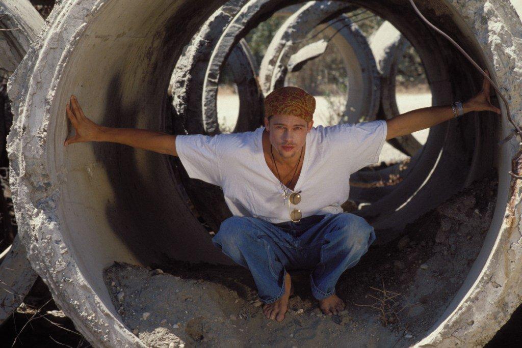 Фотосессия Брэда Питта в 1989-ом году
