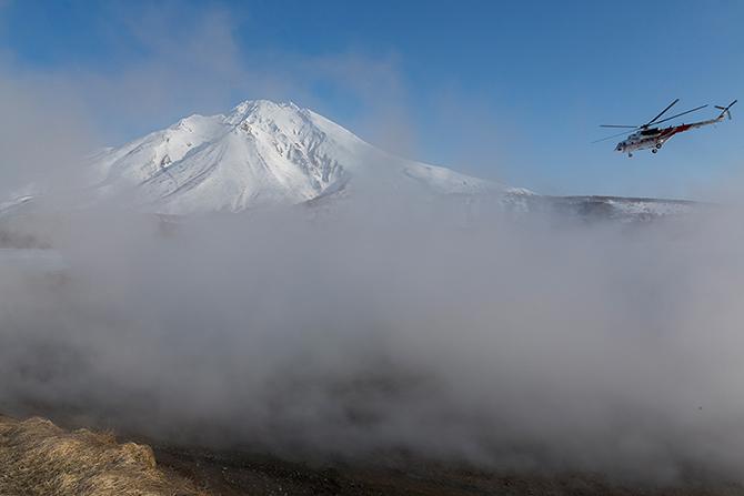 Путешествие к горячим источникам Камчатки