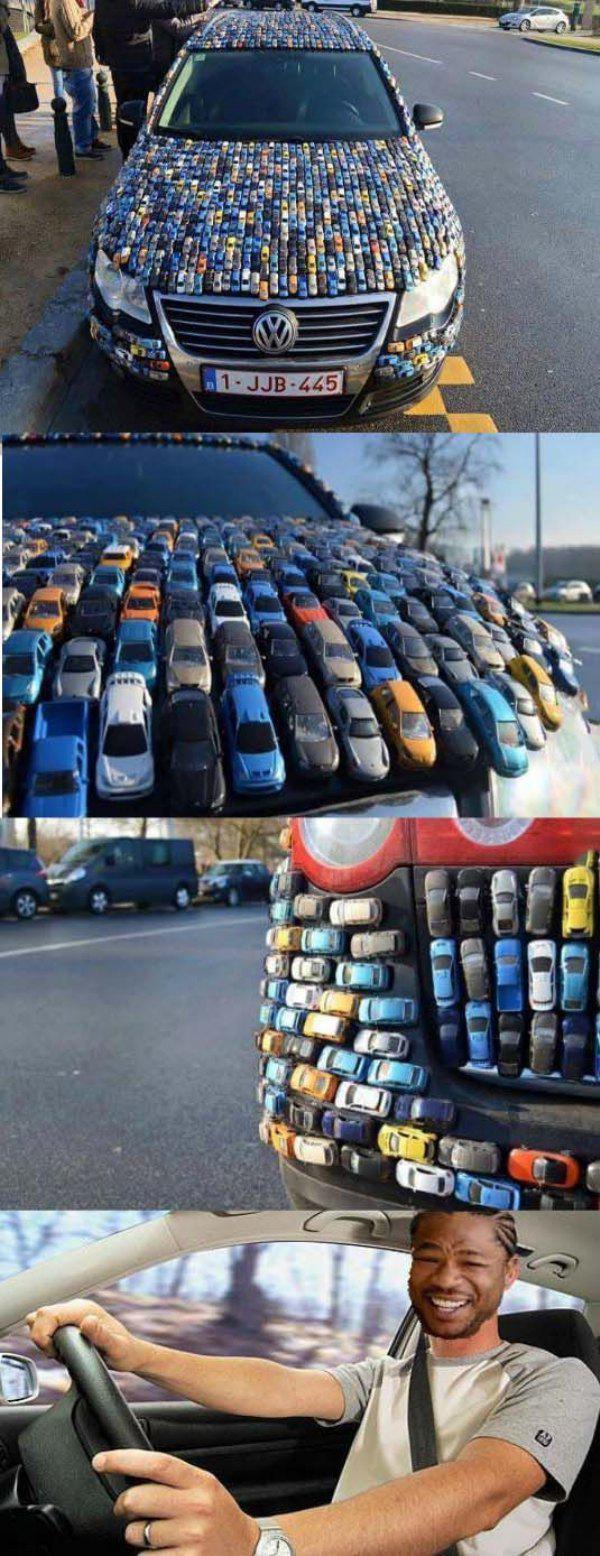 Коллекция прикольных и интересных автомобилей