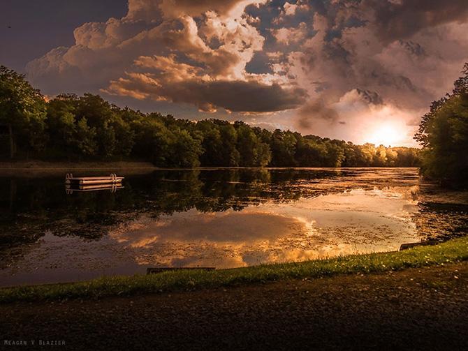 Фотографии от Меган Блазье, сделанные на обычный фотоаппарат