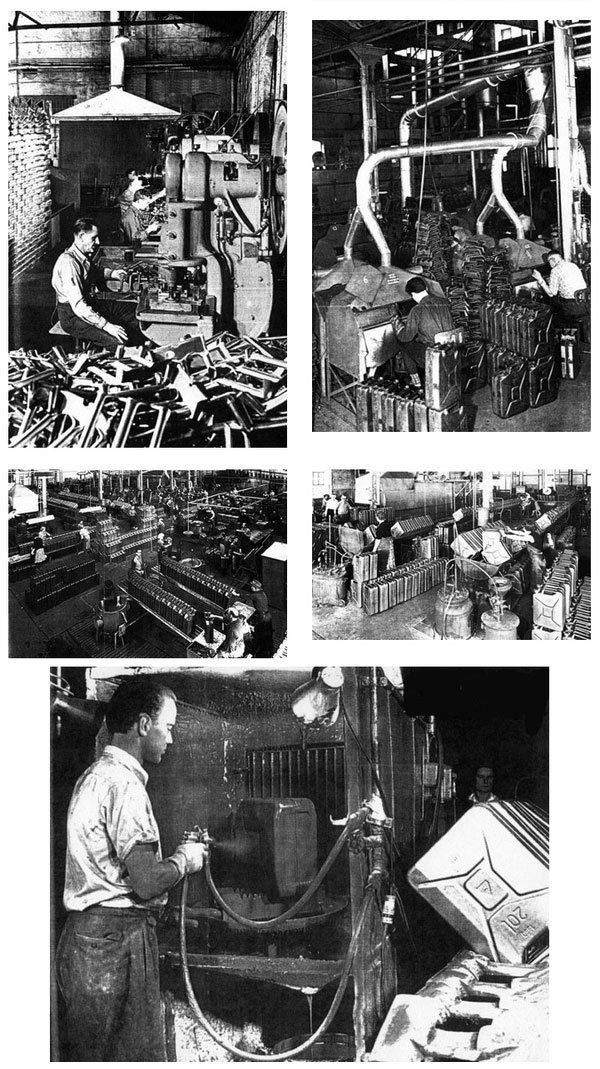 История создания стандартной 20-литровой канистры