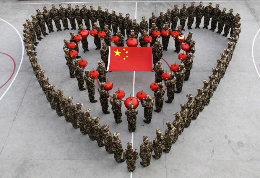 Очень массовые мероприятия в Китае