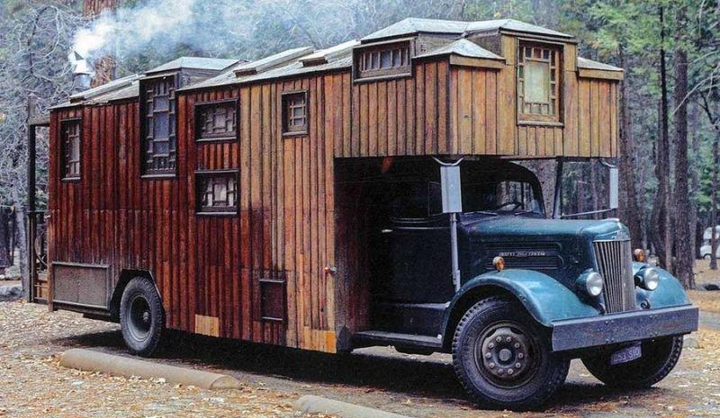 Разные дома на колесах