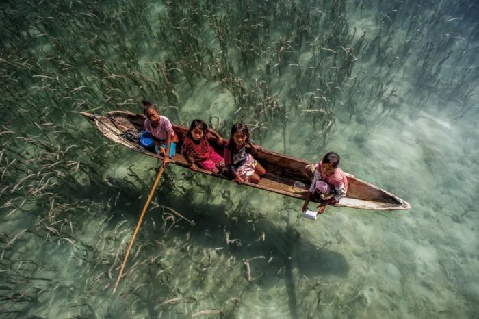 Жизнь на воде в Малайзии