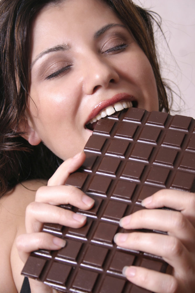 Подруги картинки шоколад