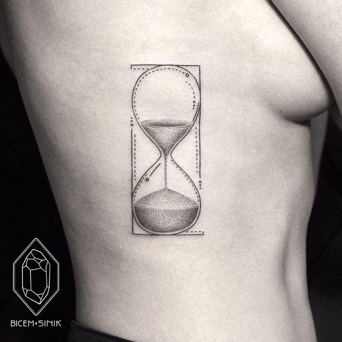 Геометрические татуировки от Bicem Sinik