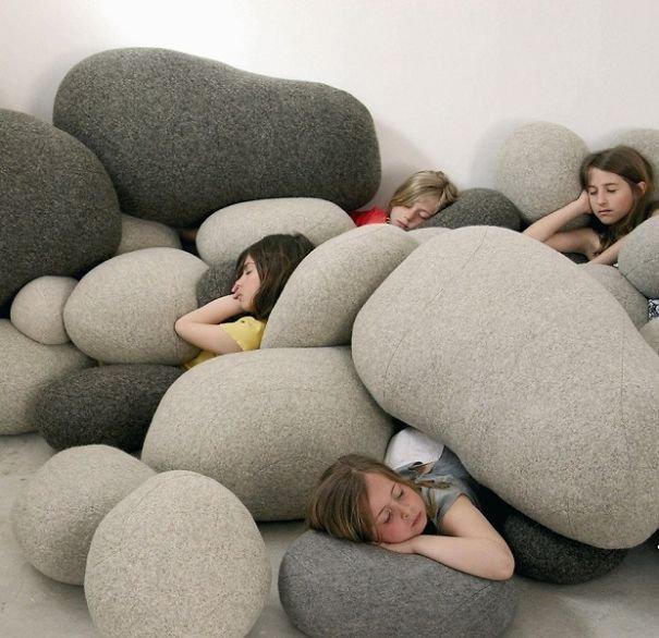 Креативные дизайнерские подушки