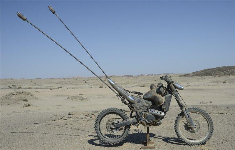 Постапокалиптические мотоциклы из фильма Безумный Макс