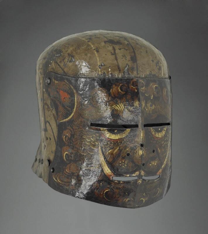 Шлемы немецких рыцарей 16 века