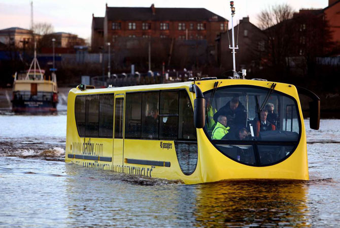 Самые необычные транспортные средства со всего мира