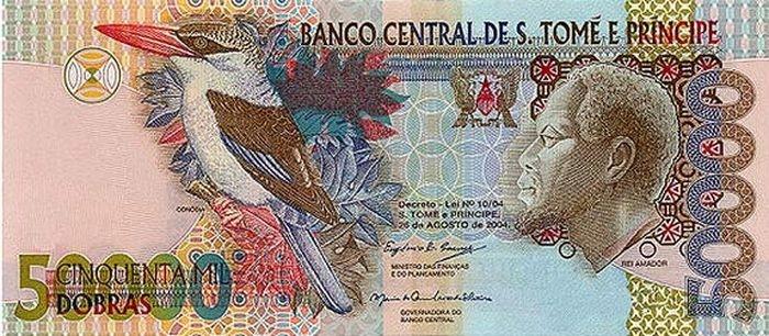 10 самых красивых денежных купюр мира