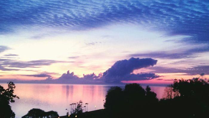 Удивительные облака невероятной формы
