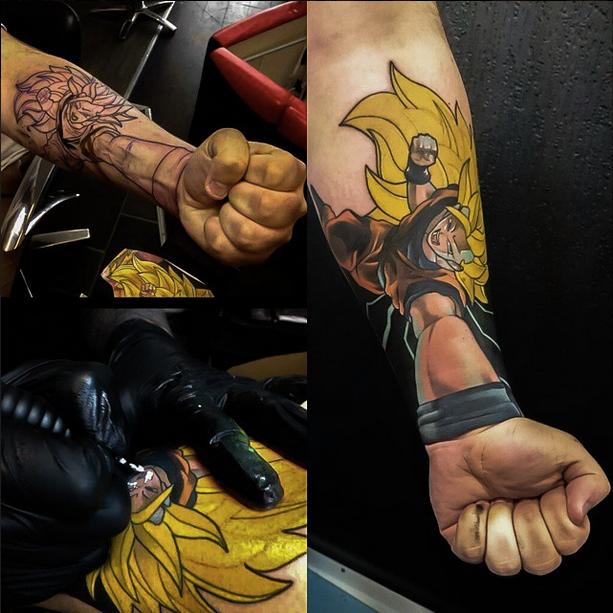 Подборка 3D татуировок