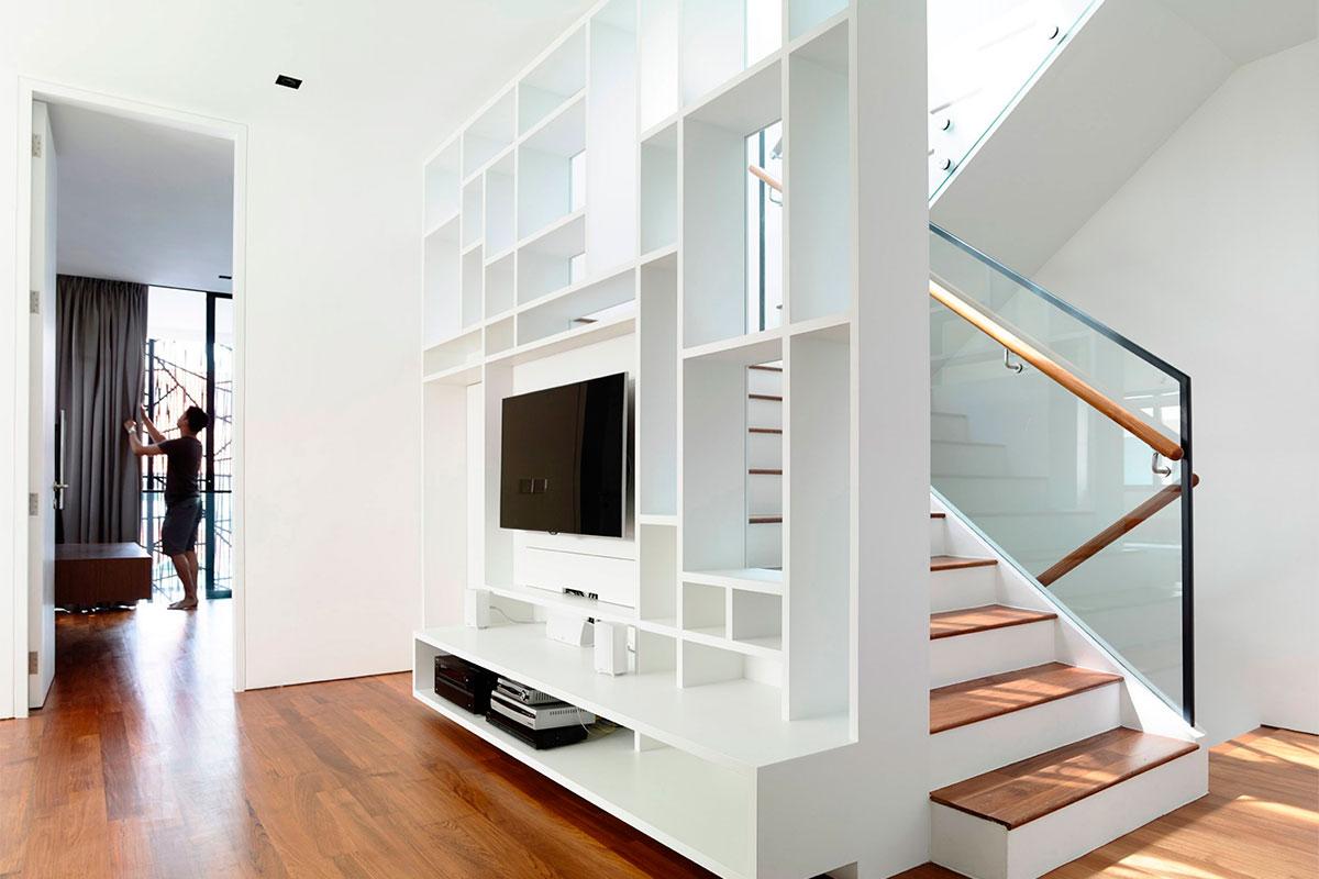 Современный частный дом Natural Geometry от студии HYLA