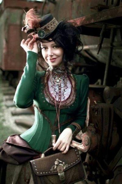 Красивые девушки и косплей в стиле стимпанк
