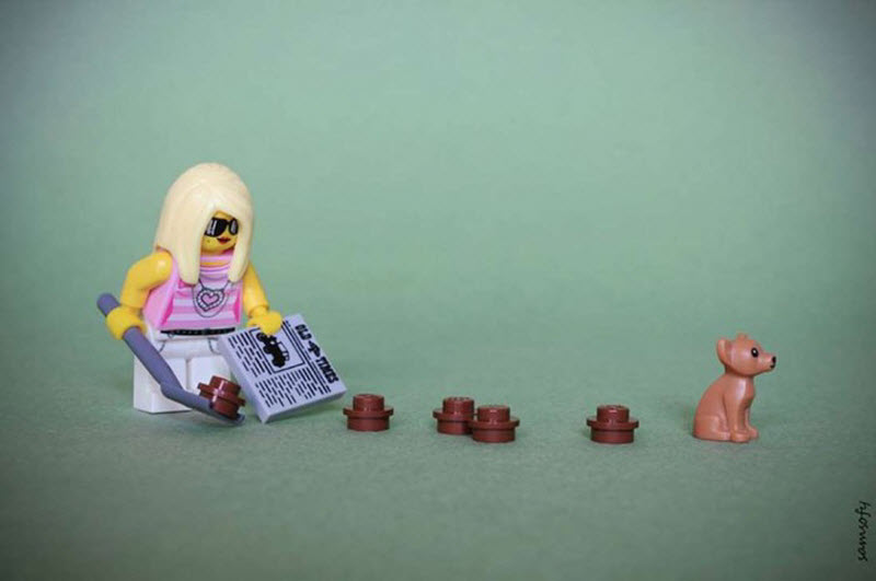 Жизненные сцены из Lego