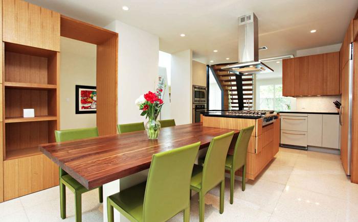 20 оригинальных дизайнерских решений открытой планировки кухни