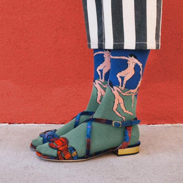 Носки: полотна для шедевров мировой живописи
