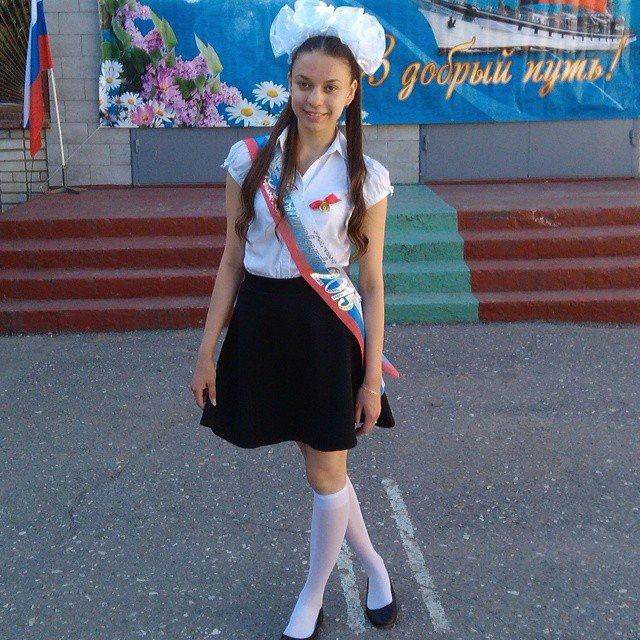 Фотографии выпускниц 2015