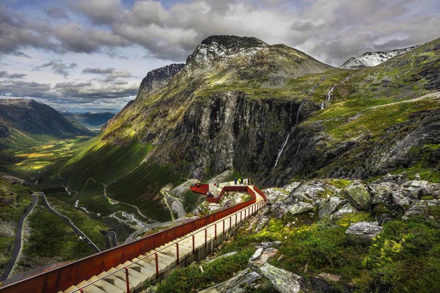 Горные дороги Норвегии