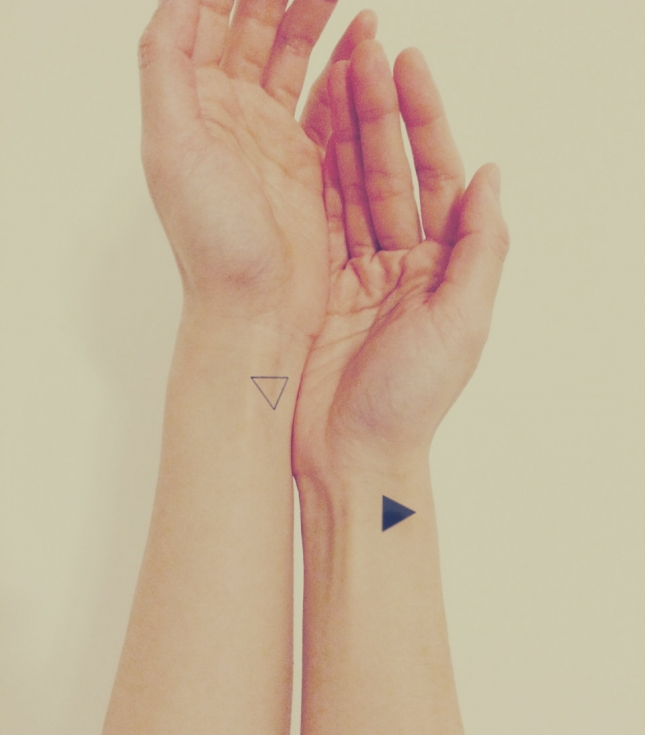 Интересные идеи крошечных татуировок