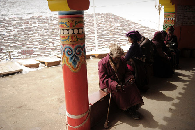 Монастырь Сэда в Тибете
