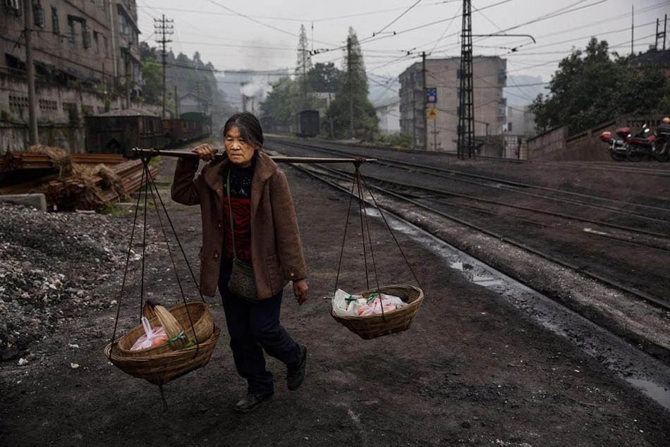 Железная дорога и паровозы в Китае