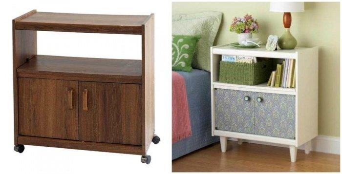 Как креативно оживить старую мебель