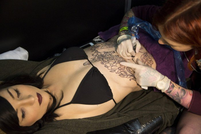 Фестиваль татуировок Great British Tattoo Show 2015