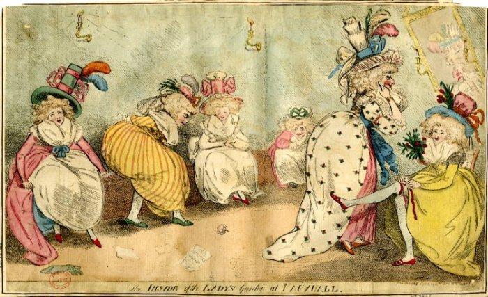 Личная гигиена европейцев в XVIII веке