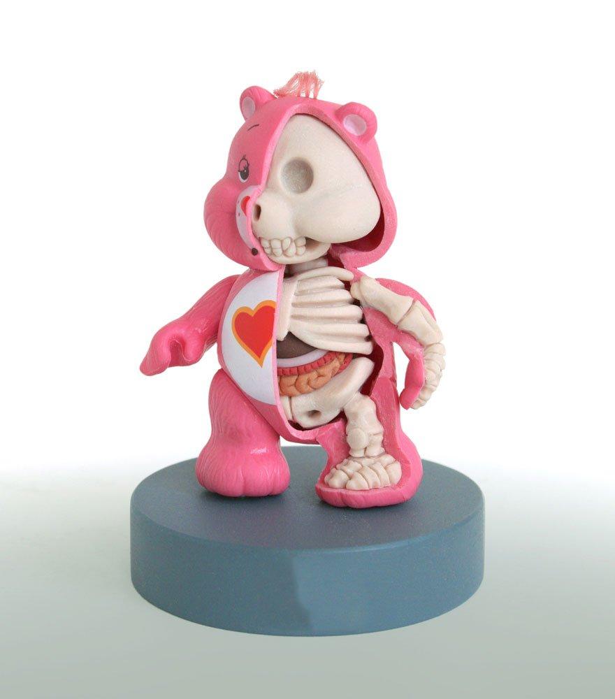 Анатомические игрушки от Джейсона Фрини