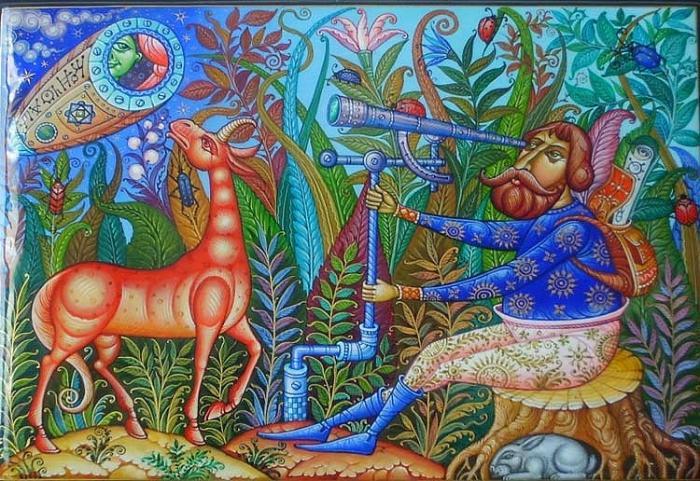 Сказочные миниатюры от Даниила Молодкина