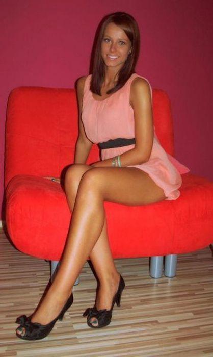 Красивые девушки и их ножки