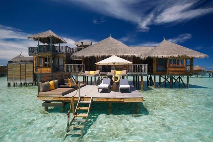 Отель Гили Ланкафуши на Мальдивах