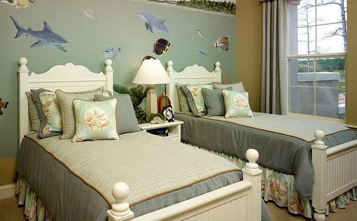 Нескучные детские комнаты