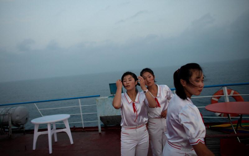 Работающие женщины в Северной Корее